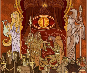 art, lord of the rings, and LOTR image