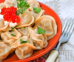 delicious, food, and pelmeni image