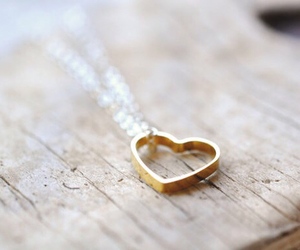 heart, love, and necklace image