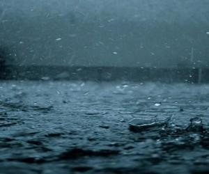 beautiful, rain, and heavy raining image