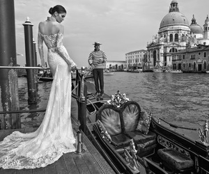 bride, fashion, and venice image