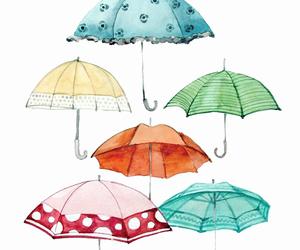 umbrella and illustration image