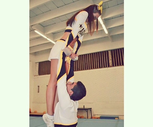 cheer, couples, and fitness image