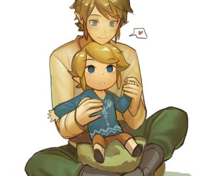 link, the legend of zelda, and skyward sword image