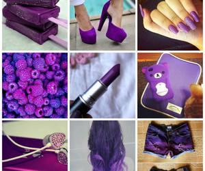 ice cream, ipod, and purple image