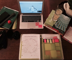 diy, homework, and laptop image