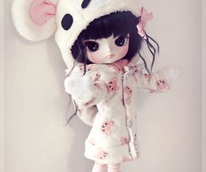 bear, dolls, and pullip image