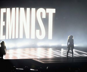 beyoncé, feminist, and flawless image