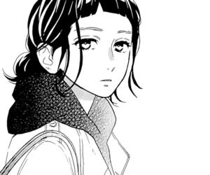hirunaka no ryuusei, manga, and monochrome image