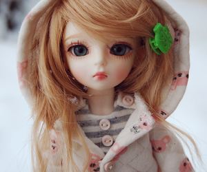 bjd, doll, and bubble image