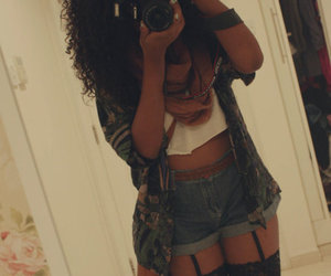 girl, outfit, and swag image