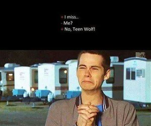 funny, stiles stilinski, and lol image