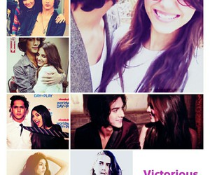 victoria, avan, and victorious cast image