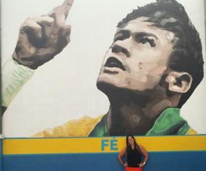 nadine and neymar jr image