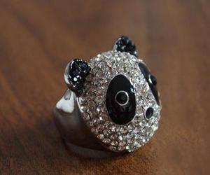 jewelry, lovely, and panda image