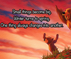 bear, disney, and quote image
