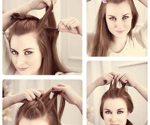 beauty, hairstyle, and style image