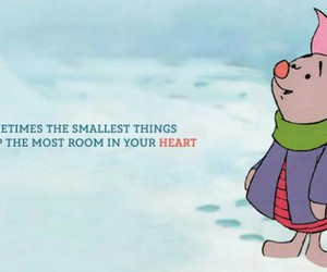 piglet, quote, and disney image