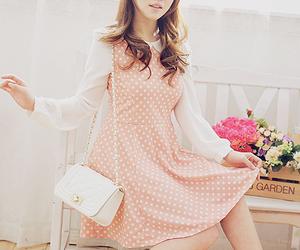 kfashion, girl, and korean fashion image
