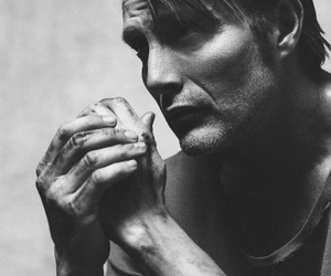 mads mikkelsen, hannibal, and actor image