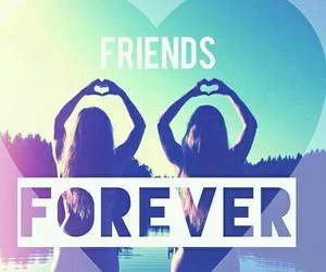 friends, forever, and bff image