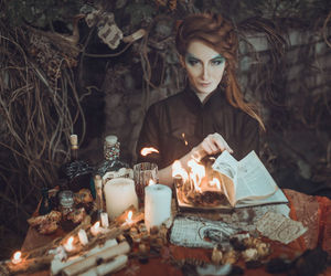 witch, girl, and photography image
