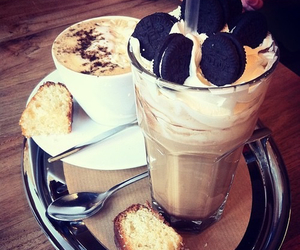 oreo, food, and coffee image