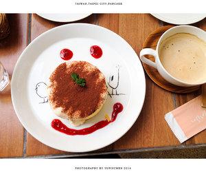 cake, pancake, and smile image
