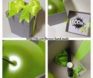 diy, gift, and surprise image