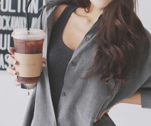 fashion, kfashion, and coffee image