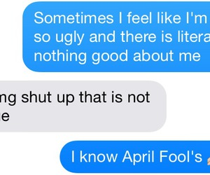 funny, april fools, and text image