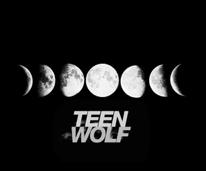 black, moon, and stiles image