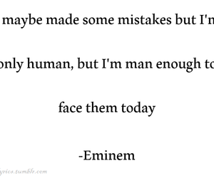 be strong, eminem, and inspirational image