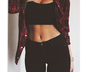 outfit, girl, and body image