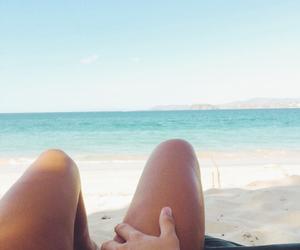 love, beach, and bikini image