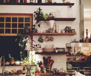 kitchen, decor, and house image
