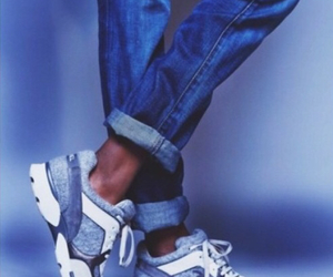 chanel, jeans, and shoes image