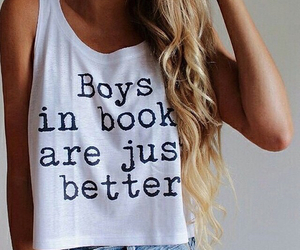 boy, book, and outfit image