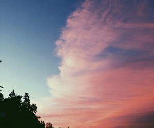 sky, nature, and summer image