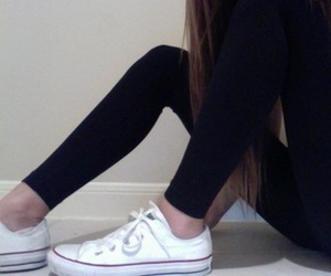 girl, converse, and grunge image
