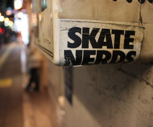 skate, nerd, and quality image