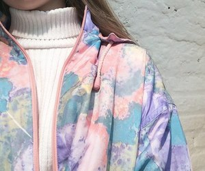 pastel, pink, and jacket image