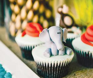 animals, cupcakes, and foods image