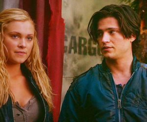 the 100, clarke griffin, and finn collins image