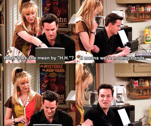 chandler, funny, and hilarious image