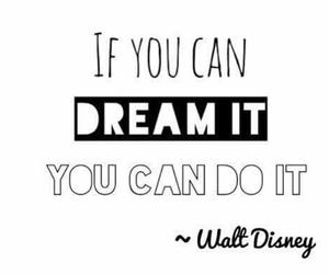 disney, Dream, and do it image