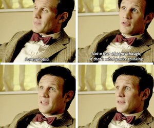 doctor who, funny, and the eleventh doctor image