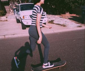 grunge, skate, and skategirl image