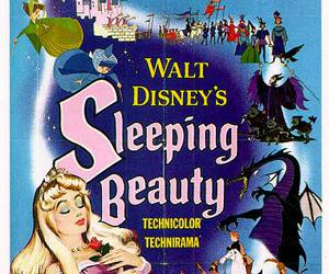 sleeping beauty, disney, and poster image