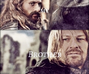 brothers, faramir, and boromir image